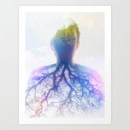 asthma Art Print
