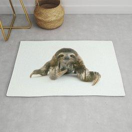 Arctic Sloth Rug
