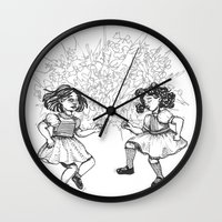 dancing Wall Clocks featuring Dancing by Required Animals