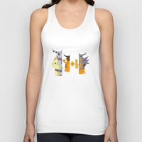 courage Tank Tops featuring Courage by Grimm Company
