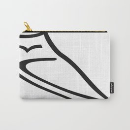 Vector Style Owl Carry-All Pouch