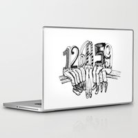numbers Laptop & iPad Skins featuring Numbers by Ilya kutoboy