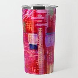 abstract #237 Travel Mug