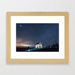 Rural Stars Framed Art Print