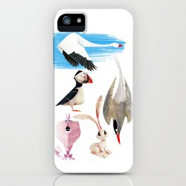 Arctic animals 2 iPhone Case
