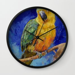 Jenday Conure Wall Clock