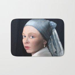 In de stijl van... Vermeer Bath Mat