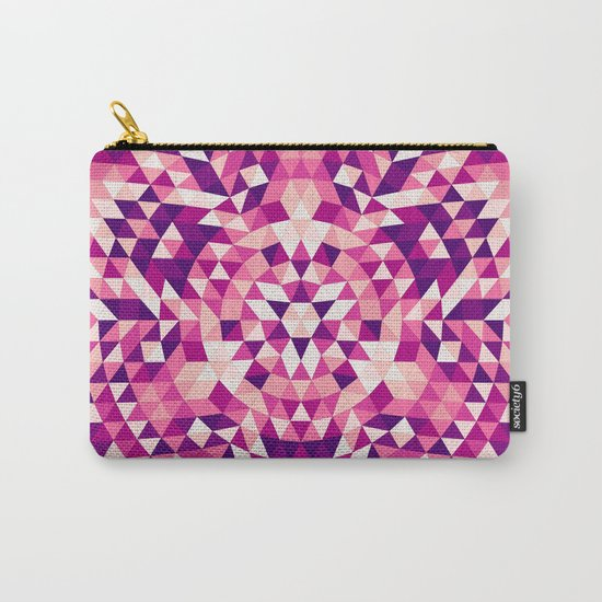 Triangle mandala 1 Carry-All Pouch