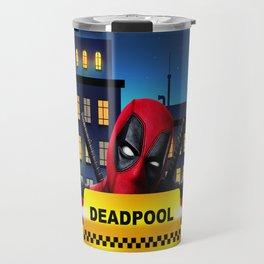 Dead Pool Taxi Night Travel Mug