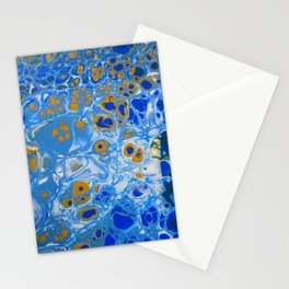 Under the microscope Stationery Cards