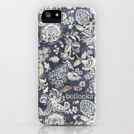Paisley Bollocks iPhone Case