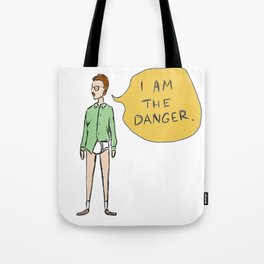 Yeah, Mr. White! (Breaking Bad) Tote Bag