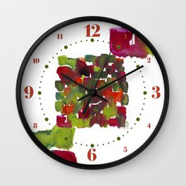 Marina's Christmas Theme Wall Clock