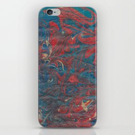 Water with fire  iPhone Skin