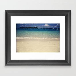 The Devil's Isles Framed Art Print