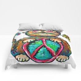 Peace Chubbycat Comforters