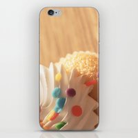 cupcake iPhone & iPod Skins featuring cupcake by Susigrafie