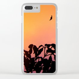 Fall Clear iPhone Case