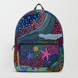 Whale Ocean Life Backpack