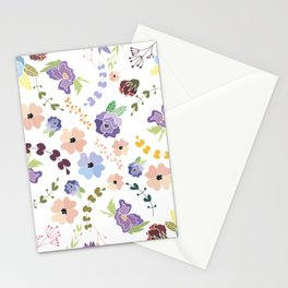 Floral Pattern II Stationery Cards
