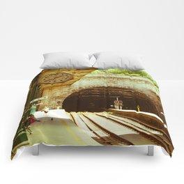 Porto Train Station Comforters