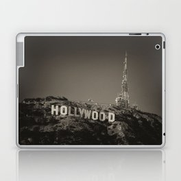 Vintage Hollywood sign Laptop & iPad Skin