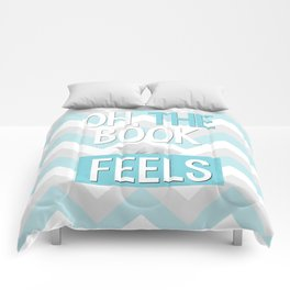 Oh, the book feels! Comforters
