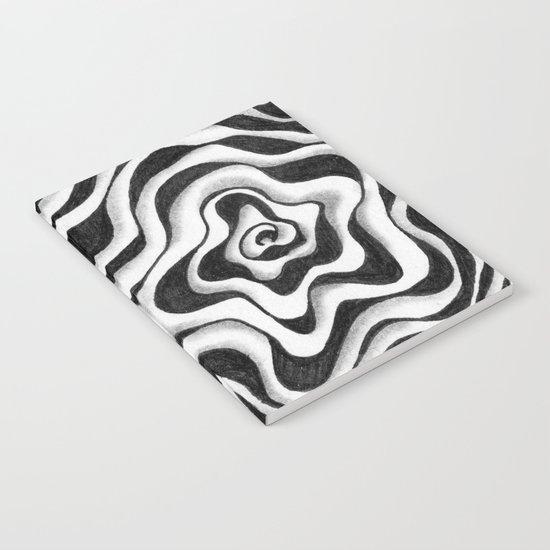 Doodled Rose & Vine Notebook