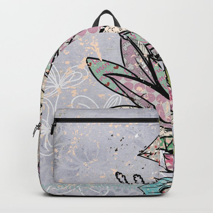 Paper Flowers #3 Backpack