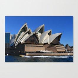Opera House Canvas Print