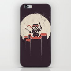 The Happiest Ninja in Town. iPhone & iPod Skin