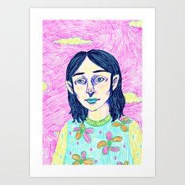 Jemima Art Print