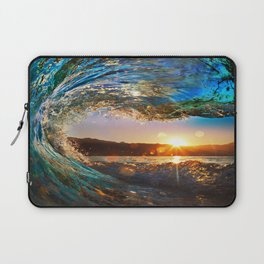 Beach - Waves - Ocean - Sun   Laptop Sleeve