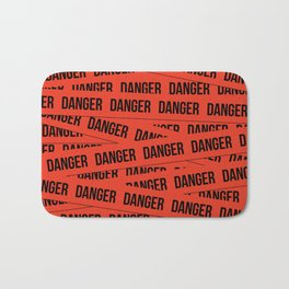 Danger Bath Mat