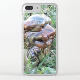 Foo Dog Clear iPhone Case