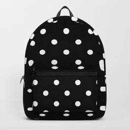 Black & White Polka Dots Backpack