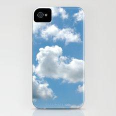 head in the clouds iPhone (4, 4s) Slim Case