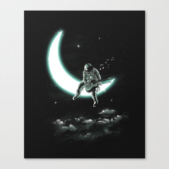 The Moon Song Canvas Print