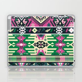 Fancy abstract geometric vector pattern in tribal style Laptop & iPad Skin