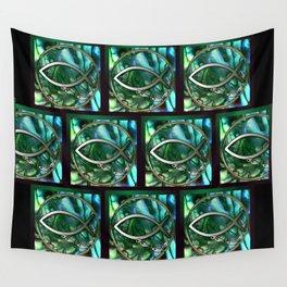 Paua Fishing Wall Tapestry