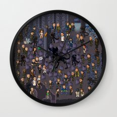 Super Aliens³ Resurrection Wall Clock