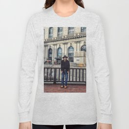 Street Portrait Long Sleeve T-shirt