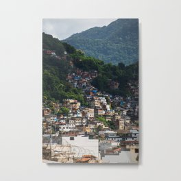 Favela - Rio - photo series Metal Print