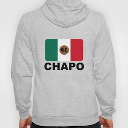 El Chapo Mexican flag Hoody