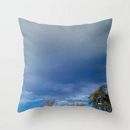 The Smallness of Man (or Woman) Throw Pillow
