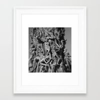 horror Framed Art Prints featuring Horror by Raymond Earley
