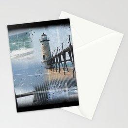 Manistee Lighthouse MI Stationery Cards