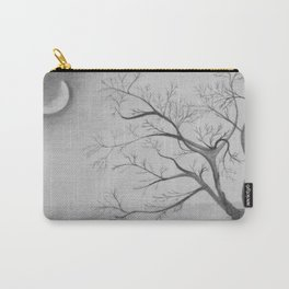 Tree Moon Light Carry-All Pouch