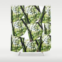 building Shower Curtains featuring Building by phimola