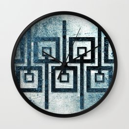 Order in Abstract III Wall Clock